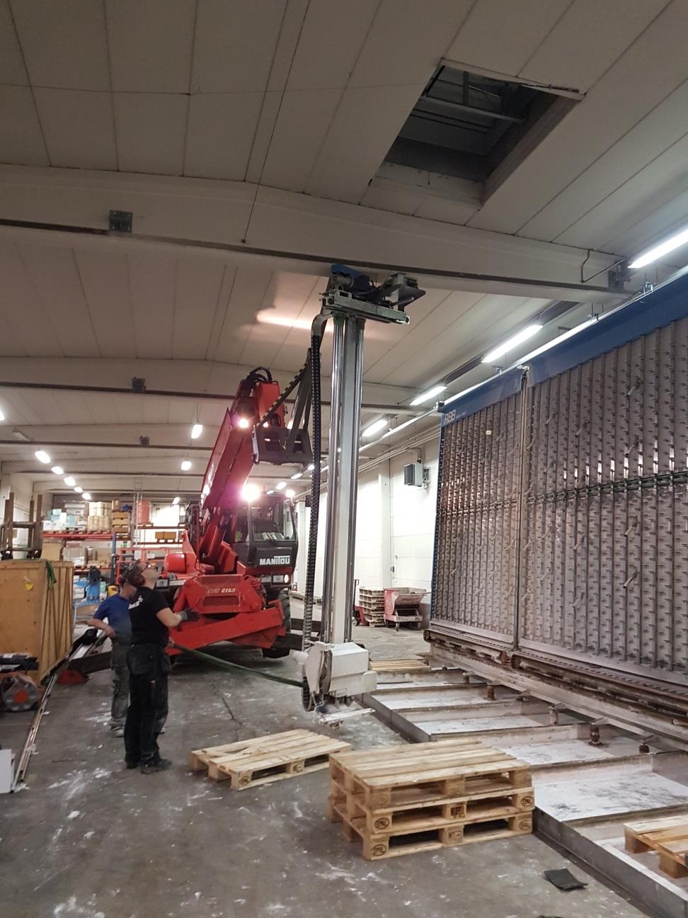 Installation RBB brandsåg